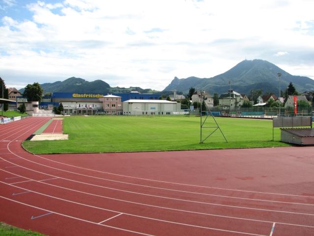 Die Sportanlage des ASV ASKÖ Salzburg in Itzling