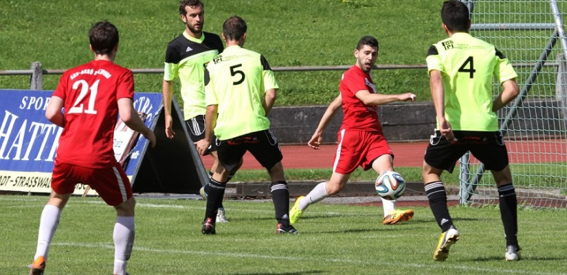 ASV Salzburg gegen SC Bad Hofgastein - Saison 2014/15