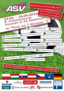 4. Itzlinger Sommercup für U 11-Mannschaften vom 25.-26.06.2016