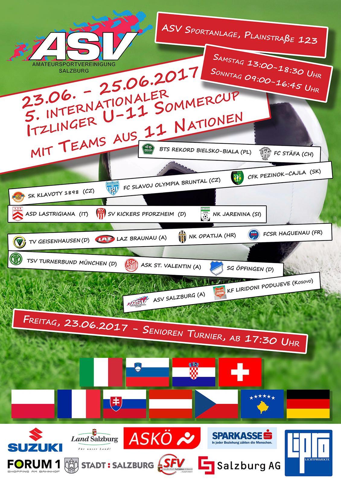 ASV Salzburg Sommercup 2017