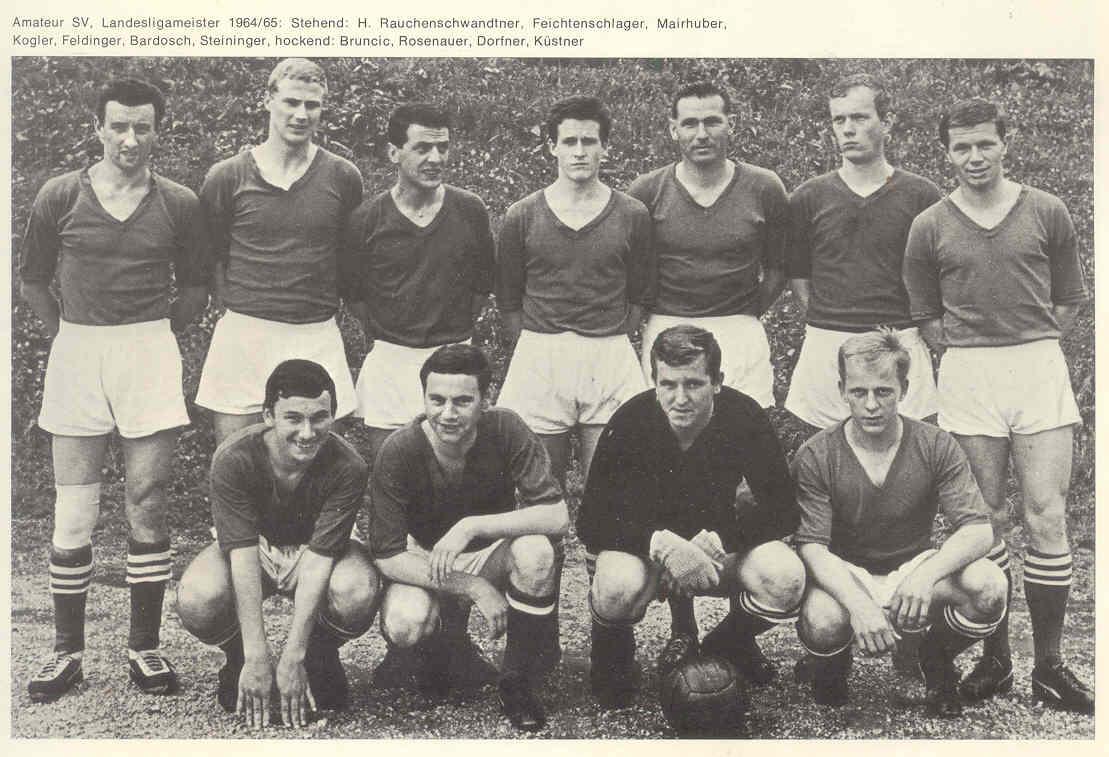 Amateur SV, Landesligameister 1964/65 - ASV