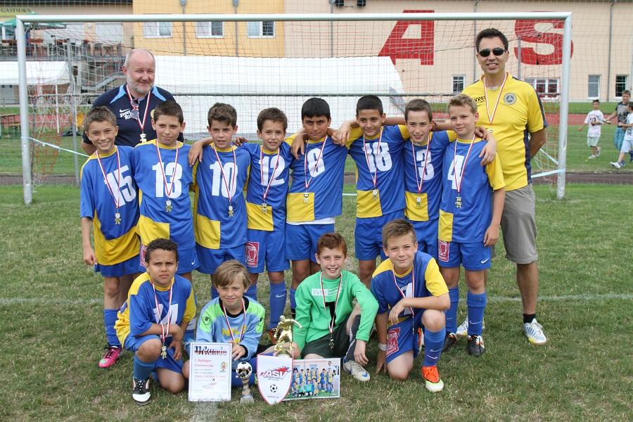 First Vienna FC gewinnt 1. Itzlinger U11-Sommercup