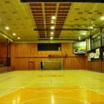 Sporthalle Bruntal – Innenansicht