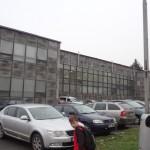 Die Sporthalle in Bruntal – Aussenansicht