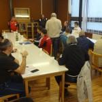 Begrüßung und Regelbesprechung für die Trainer