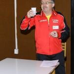 Olympia Bruntal Präsident Jan Urban eröffnet das Turnier