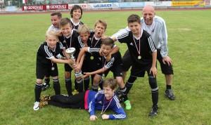 SK Lauf gewinnt 4. Itzlinger Sommercup für U 11-Mannschaften - ASV Salzburg